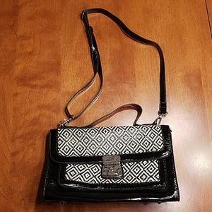 Melle Bianco black Patten bag